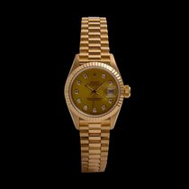 Rolex Oro amarillo Automático 26mm usados Lady-Datejust