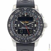 Breitling Airwolf Steel 43.5mm Black Arabic numerals