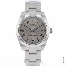 Rolex Oyster Perpetual 31 Staal 31mm Grijs Romeins Nederland, Maastricht