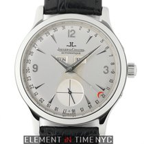 Jaeger-LeCoultre Master Calendar Steel 37mm Silver Arabic numerals United States of America, New York, New York