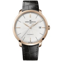 Girard Perregaux 1966 Rose gold 44mm Silver