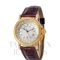 Breguet Marine Yellow gold 38mm Silver Roman numerals United States of America, New York, Hartsdale