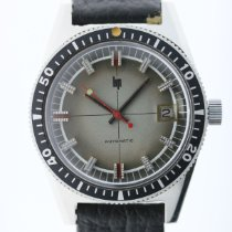 Lip Steel Automatic Grey 37mm pre-owned