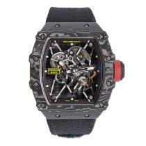 Richard Mille RM 035 RM035-01 Πολύ καλό Άνθρακας 49.9mm Αυτόματη