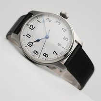 Stowa new Automatic Display back Central seconds Tempered blue hands Only Original Parts 40mm Steel Sapphire crystal