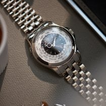 Patek Philippe World Time White gold 39.5mm White No numerals United Kingdom, London