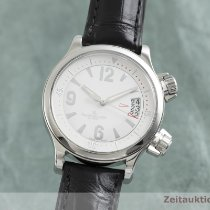 Jaeger-LeCoultre Master Compressor Lady Automatic Otel 36.5mm Alb
