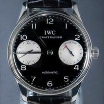 IWC gebraucht Automatik 42mm Schwarz Saphirglas