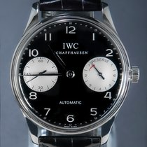 IWC tweedehands Automatisch 42mm Zwart Saffierglas