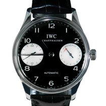 IWC Portuguese (submodel) Steel 42mm Black Arabic numerals