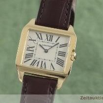 Cartier Quarz 30.5mm gebraucht Santos Dumont