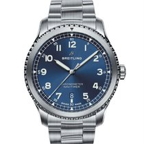 Breitling Navitimer 8 Steel 41mm Blue
