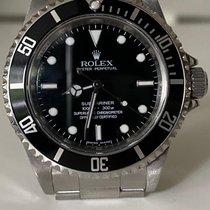 Rolex Submariner (No Date) Acier 40mm Noir Sans chiffres France, GARCHES