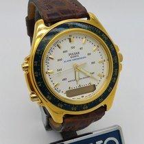 Pulsar V041-8020 PQF 132, PULSAR, Alarm Chronograph 1990 nuevo
