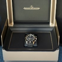 Jaeger-LeCoultre Deep Sea Chronograph Steel 40,5mm Black No numerals