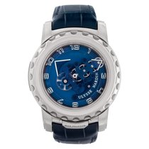 Ulysse Nardin Freak Or blanc 45mm Bleu Arabes