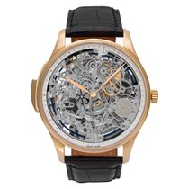 IWC Portuguese Minute Repeater Or rose 43mm Transparent Sans chiffres