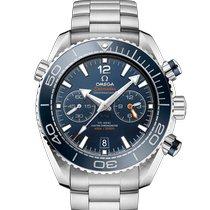 Omega Seamaster Planet Ocean Chronograph Steel 45.5mm Blue Arabic numerals United States of America, Pennsylvania, Philadelphia