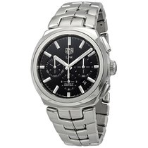 TAG Heuer Link Steel 41mm Black United States of America, Florida, Boca Raton