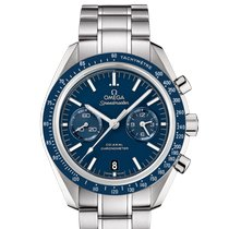 Omega Speedmaster Professional Moonwatch Titanium 44.2mm Blue No numerals
