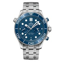 Omega Seamaster Diver 300 M Steel 44mm Blue No numerals United States of America, Florida, miami
