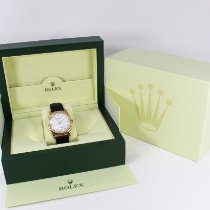 Rolex Cellini Danaos pre-owned 38mm White Leather