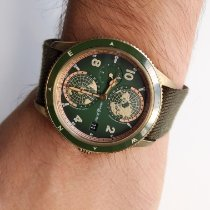 Montblanc Bronze Automatic Green Arabic numerals pre-owned 1858