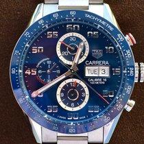 TAG Heuer Carrera Calibre 16 Steel 43mm Blue Arabic numerals United States of America, Texas, Plano