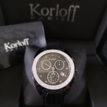 Korloff Acier Quartz K20B/5 nouveau