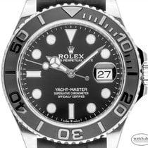Rolex Yacht-Master 42 Weißgold 42mm Schwarz