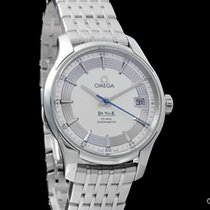 Omega De Ville Hour Vision Acero 41mm Plata