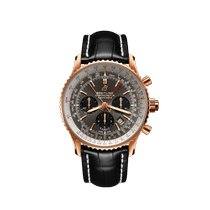 Breitling Navitimer Rattrapante Rose gold 45mm Grey United States of America, California, Newport Beach