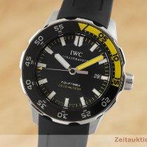 IWC Aquatimer Automatic 2000 Stal 45.5mm Czarny