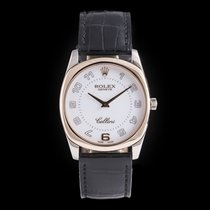 Rolex Cellini Danaos 34mm White Arabic numerals