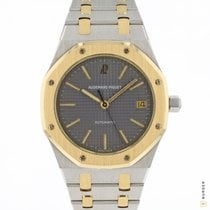 Audemars Piguet Royal Oak tweedehands 36mm Grijs Datum Goud/Staal