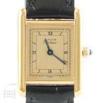 Cartier Tank Vermeil 366001 1985 gebraucht