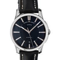 Maurice Lacroix Pontos Day Date Steel 40mm Black No numerals