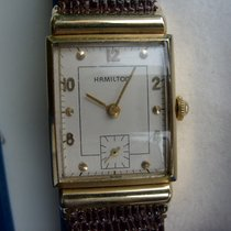 Hamilton Red gold Manual winding 23mm pre-owned