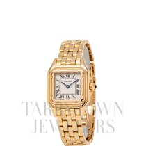 Cartier Panthère Yellow gold 22mm Champagne Roman numerals