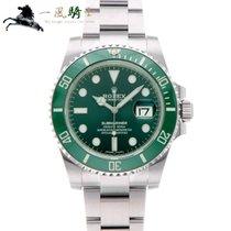 Rolex Submariner Date Acél 40mm Zöld