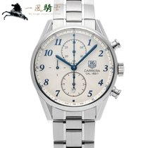 TAG Heuer Carrera Calibre 1887 Steel 41mm Silver