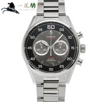TAG Heuer Carrera Calibre 36 CAR2B10.BA0799 Bon Acier 43mm Remontage automatique