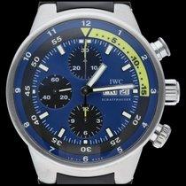 IWC Aquatimer Chronograph Acier 44mm Bleu Sans chiffres Belgique, Brussel