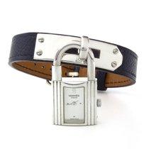 Hermès Silber Quarz Silber Keine Ziffern 20mm gebraucht Kelly