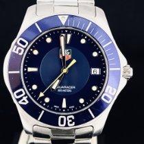 TAG Heuer Aquaracer 300M occasion 39mm Bleu Date Acier