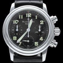 Blancpain Léman Fly-Back Steel 33mm Black Arabic numerals