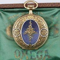 Omega Roségold Handaufzug Weiß Arabisch 51mm gebraucht