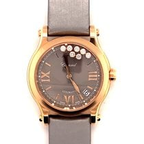 Chopard Happy Sport 274808-5012 New Rose gold 36mm Automatic