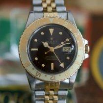 Rolex 16753 Gold/Stahl 1985 GMT-Master 40mm gebraucht Österreich, Schwechat
