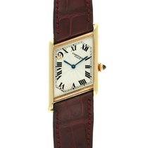 Cartier Tank (submodel) Желтое золото 23.6mm Cеребро